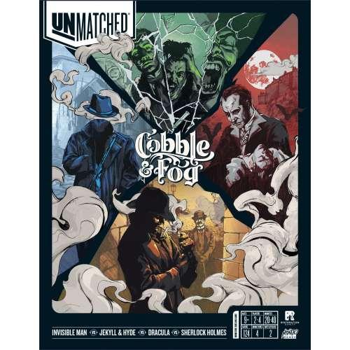 Unmatched: Cobble & Fog - настолна игра