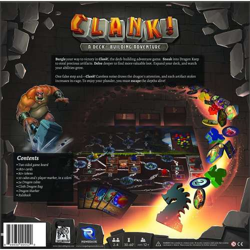 Clank!: A Deck-Building Adventure - настолна игра