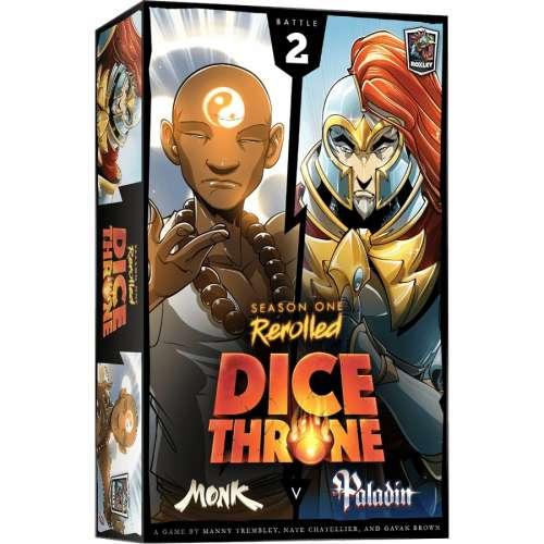 Dice Throne: Season One ReRolled – Monk v. Paladin - настолна игра