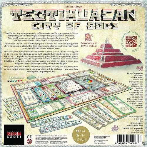 Teotihuacan: City of Gods - настолна игра