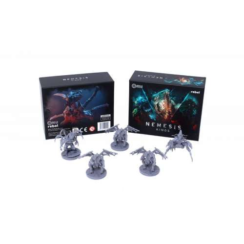 Nemesis: Alien Kings - разширение за настолна игра