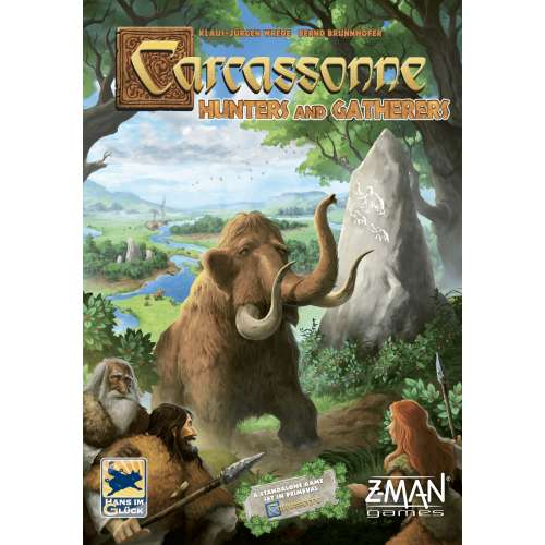 Carcassonne: Hunters and Gatherers (2020 Edition) - настолна игра