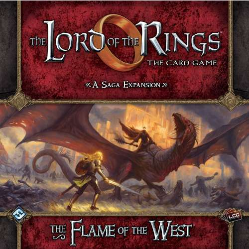 The Lord of the Rings: The Card Game – The Flame of the West - разширение за настолна игра