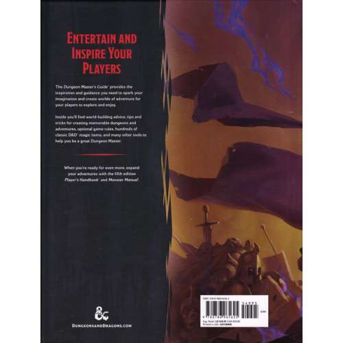 Dungeons & Dragons RPG: Dungeon Master's Guide (5th Edition)