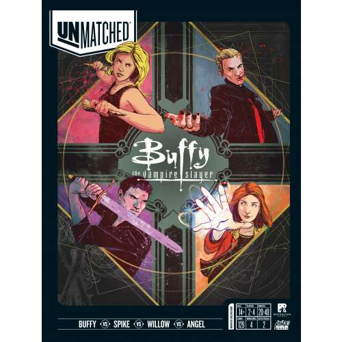 Unmatched: Buffy the Vampire Slayer - настолна игра