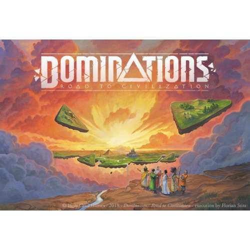 Dominations: Road to Civilization - настолна игра