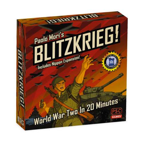 Blitzkrieg!: World War Two in 20 Minutes (includes Nippon Expansion) - настолна игра