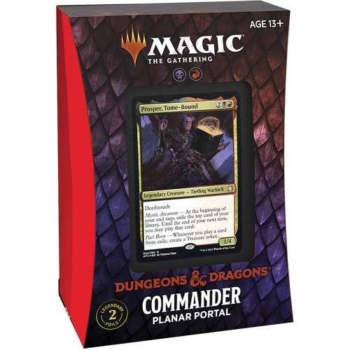 Magic: The Gathering - Adventures in The Forgotten Realms Commander Deck – Planar Portal