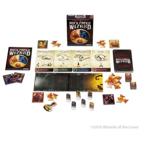 Dungeons & Dragons: Rock Paper Wizard - настолна игра