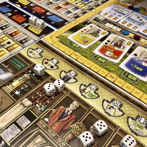 Grand Austria Hotel - настолна игра
