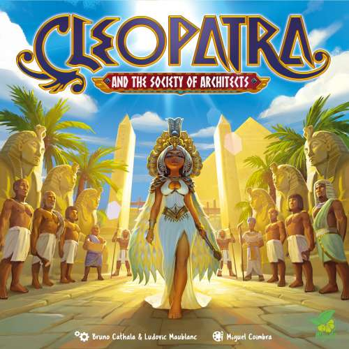 Cleopatra and the Society of Architects: Deluxe Edition - настолна игра