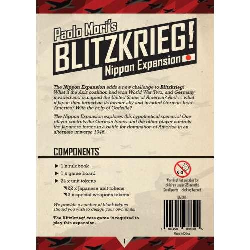 Blitzkrieg!: Nippon Expansion - разширение за настолна игра