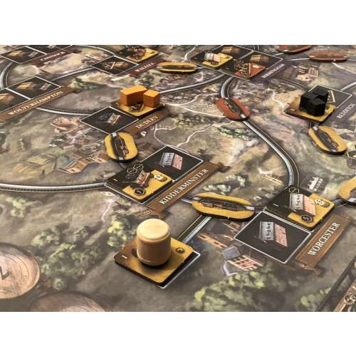 Brass: Birmingham - настолна игра