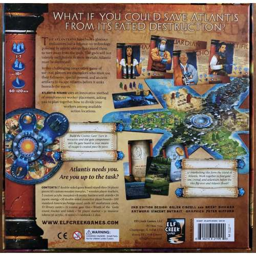 Atlantis Rising (Second Edition) - настолна игра