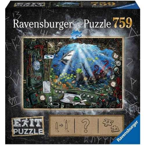 Exit Puzzle: Submarine - пъзел със загадки