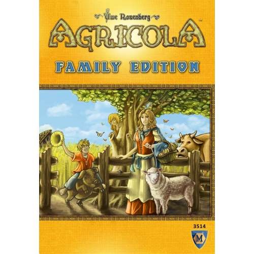 Agricola: Family Edition - настолна игра