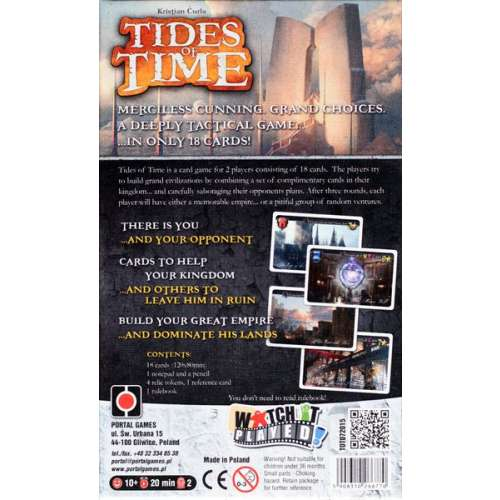 Tides of Time - настолна игра
