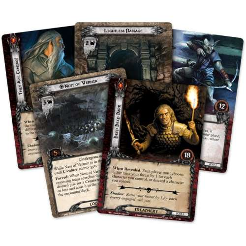 The Lord of the Rings: The Card Game – Escape from Khazad-dûm - разширение за настолна игра