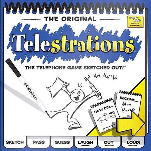 Telestrations - настолна игра