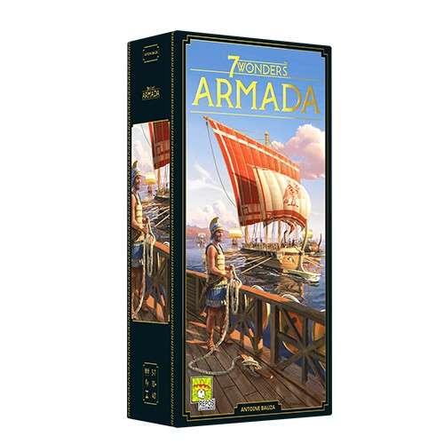7 Wonders (Second Edition): Armada - разширение за настолна игра