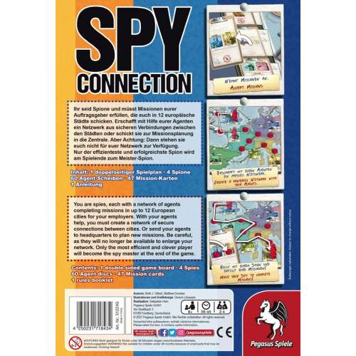 Spy Connection - настолна игра