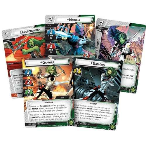 Marvel Champions: The Card Game – Gamora Hero Pack - разширение за настолна игра