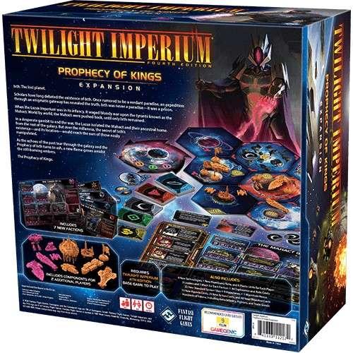Twilight Imperium: Fourth Edition – Prophecy of Kings - разширение за настолна игра