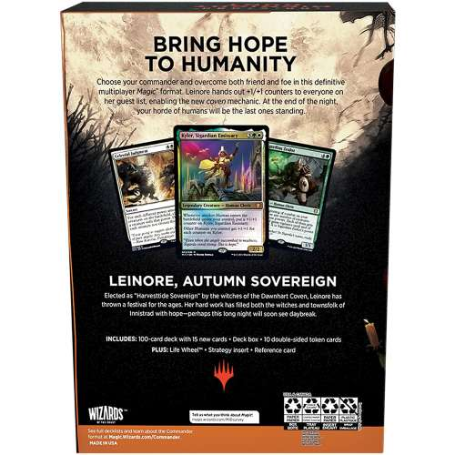 Magic: The Gathering - Innistrad: Midnight Hunt Commander Deck – Coven Counters