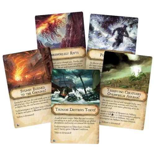 Eldritch Horror: Cities in Ruin - разширение за настолна игра