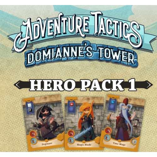 Adventure Tactics: Domianne's Tower – Hero Pack 1 - разширение за настолна игра