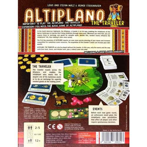 Altiplano: The Traveler - разширение за настолна игра