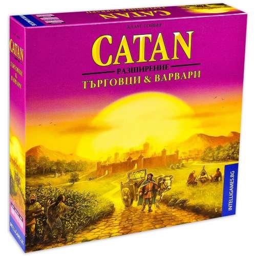 Catan: Търговци & Варвари - разширение за настолна игра