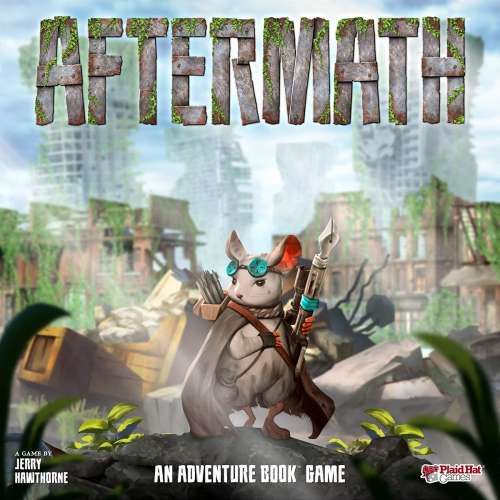 Aftermath: An Adventure Book Game - настолна игра