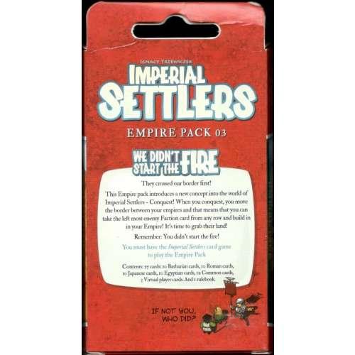 Imperial Settlers: We Didn't Start The Fire - разширение за настолна игра
