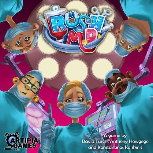 Rush M.D. - настолна игра