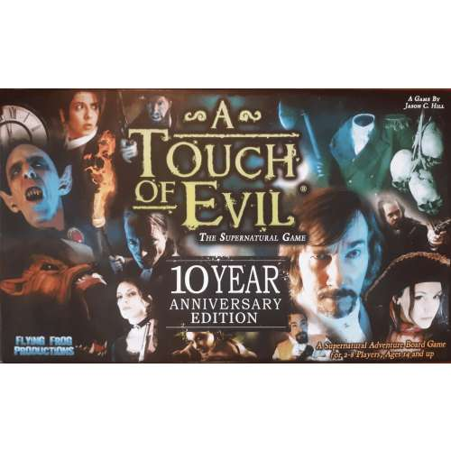 A Touch of Evil: 10 Year Anniversary Edition - настолна игра