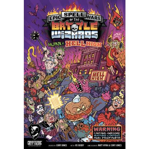 Epic Spell Wars of the Battle Wizards: Hijinx at Hell High - настолна игра