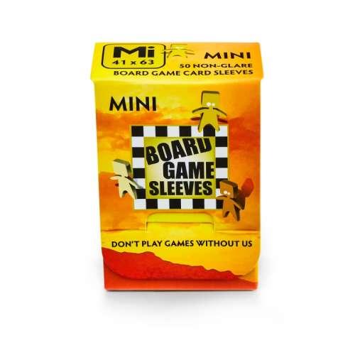 Arcane Tinmen Board Games Sleeves (Clear, Non-Glare) - 41 x 63 mm