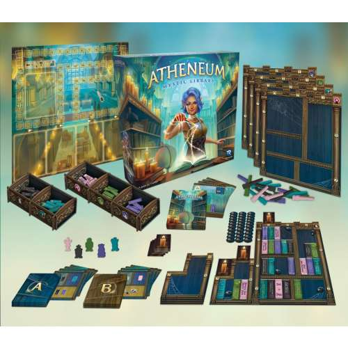 Atheneum: Mystic Library - настолна игра