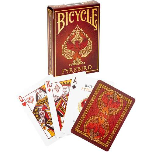 Bicycle Fyrebird Playing Cards - карти за игра