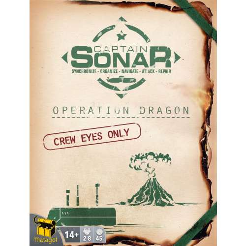 Captain Sonar: Operation Dragon - разширение за настолна игра