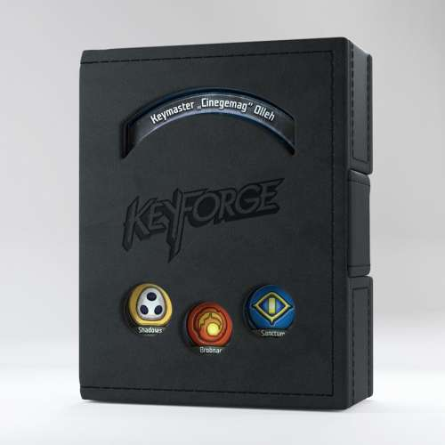 Gamegenic KeyForge Deck Book - Black