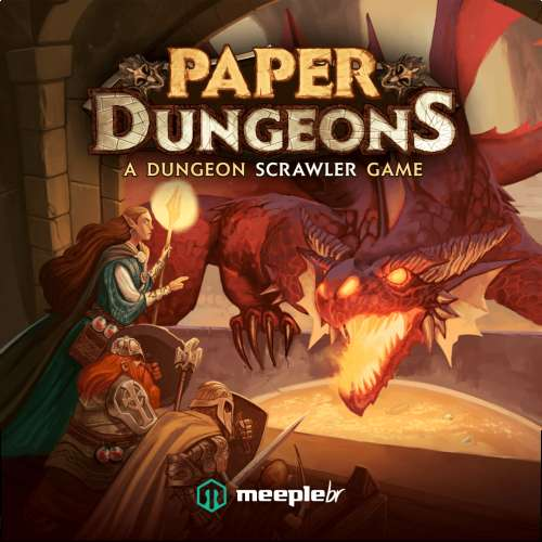 Paper Dungeons: A Dungeon Scrawler Game - настолна игра