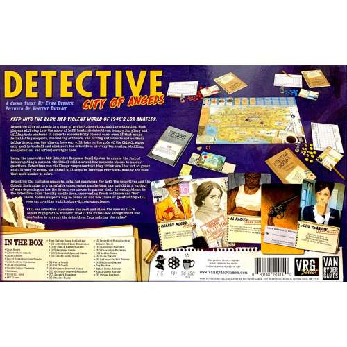 Detective: City of Angels - настолна игра