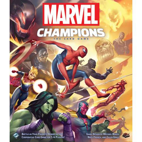 Marvel Champions: The Card Game - настолна игра