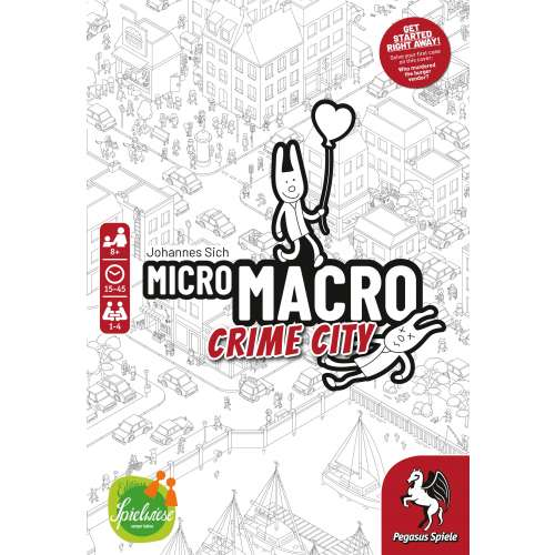 MicroMacro: Crime City - настолна игра