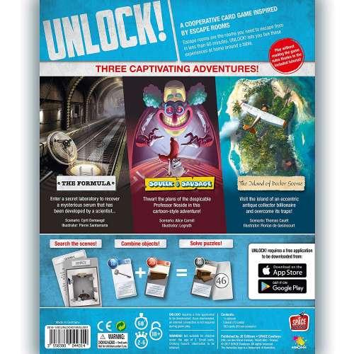 Unlock!: Escape Adventures - настолна игра