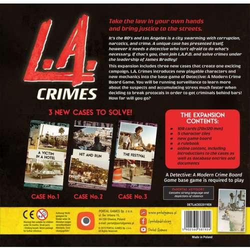 Detective:  L.A. Crimes - разширение за настолна игра