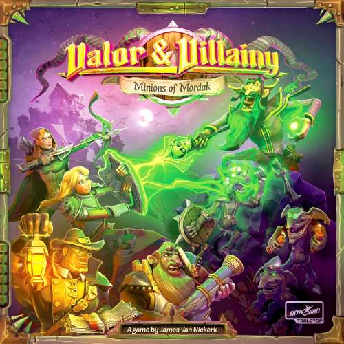 Valor & Villainy: Minions of Mordak - настолна игра