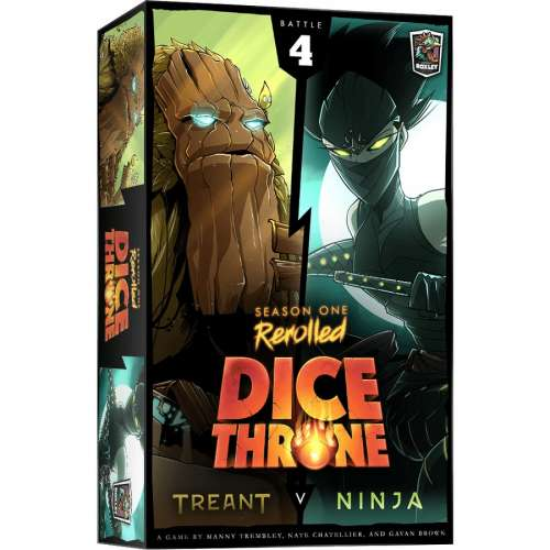 Dice Throne: Season One ReRolled – Treant v. Ninja - настолна игра